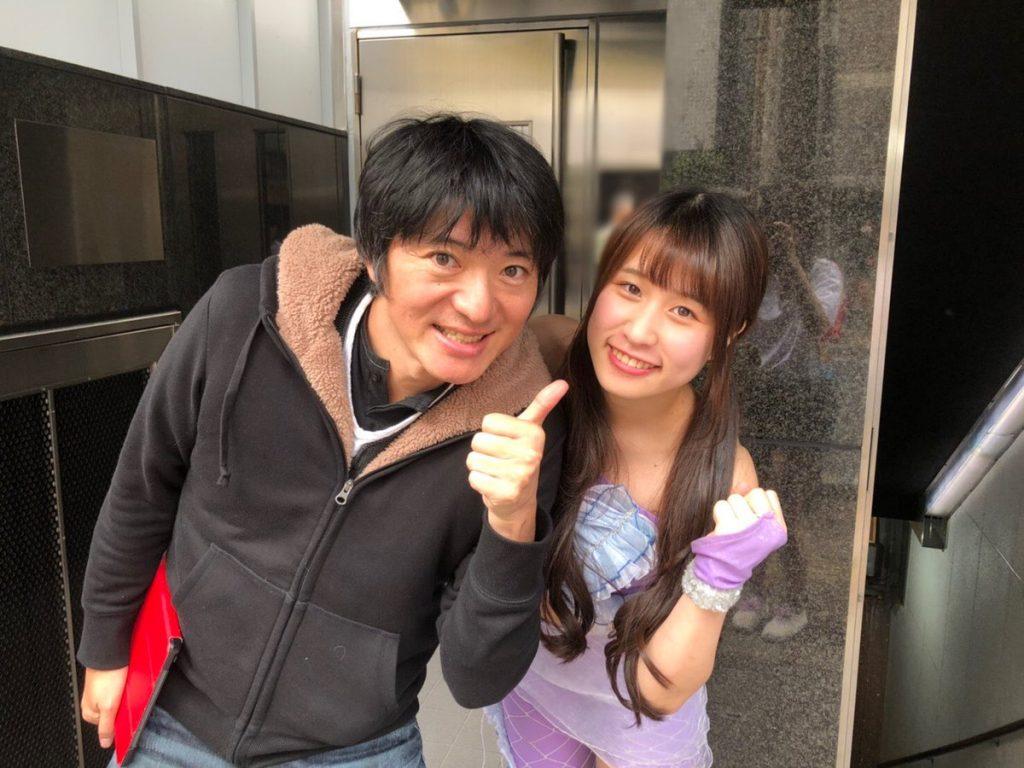 長井秀和さんとマーメイドル